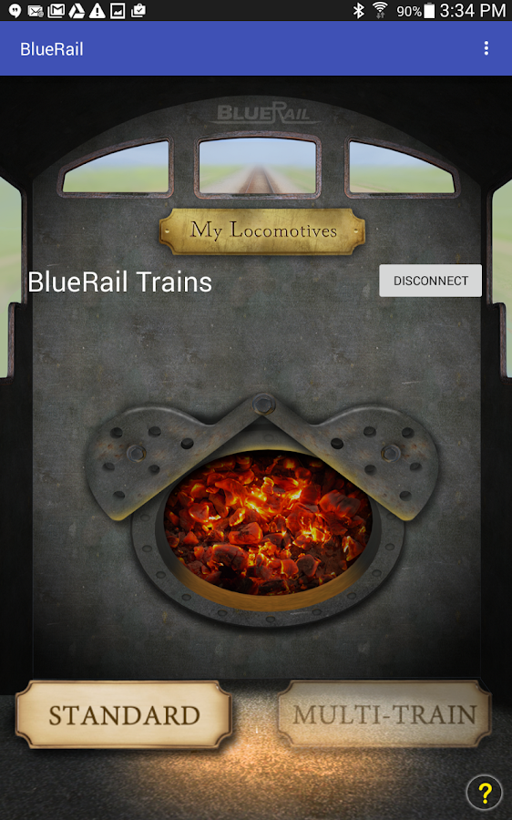 BlueRail Trains- screenshot