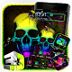 Neon Colorful Skull Gravity Theme for PC-Windows 7,8,10 and Mac