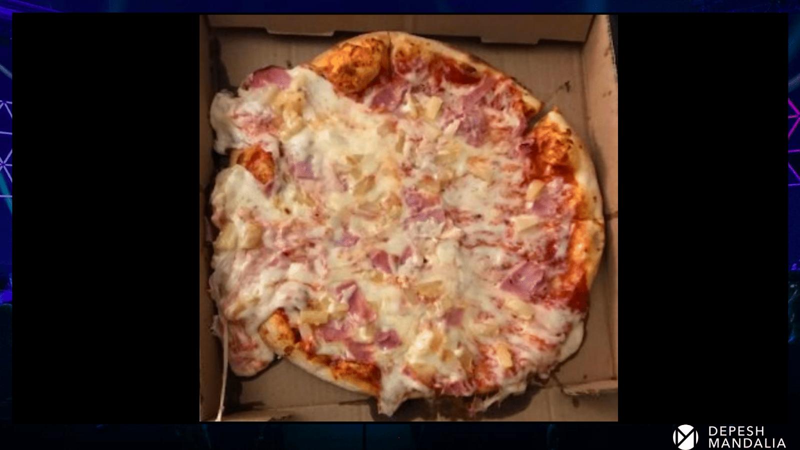 Вторая пицца от Депеша Мандалии