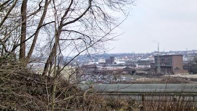 Photo: Eckeseyer Idylle mit ehemaligem Straßenbahndepot, Bahnbetriebshof und Umspannwerk.