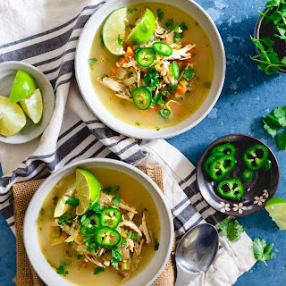 Spicy Chicken Lime Soup.