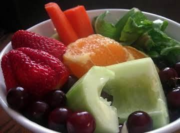 Strawberry, Orange & Cucumber Juice