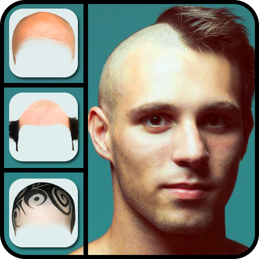 Make Me Bald Photo Montage