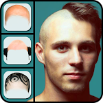 Make Me Bald Photo Montage Icon
