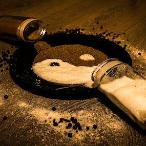 Salt & Pepper by Nicolau Flavius-Alin - Food & Drink Ingredients