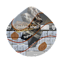Golden shell GO Keyboard icon