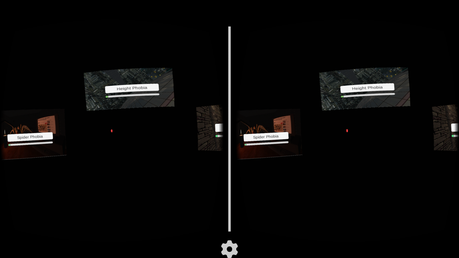 Phobias for Google Cardboard- screenshot