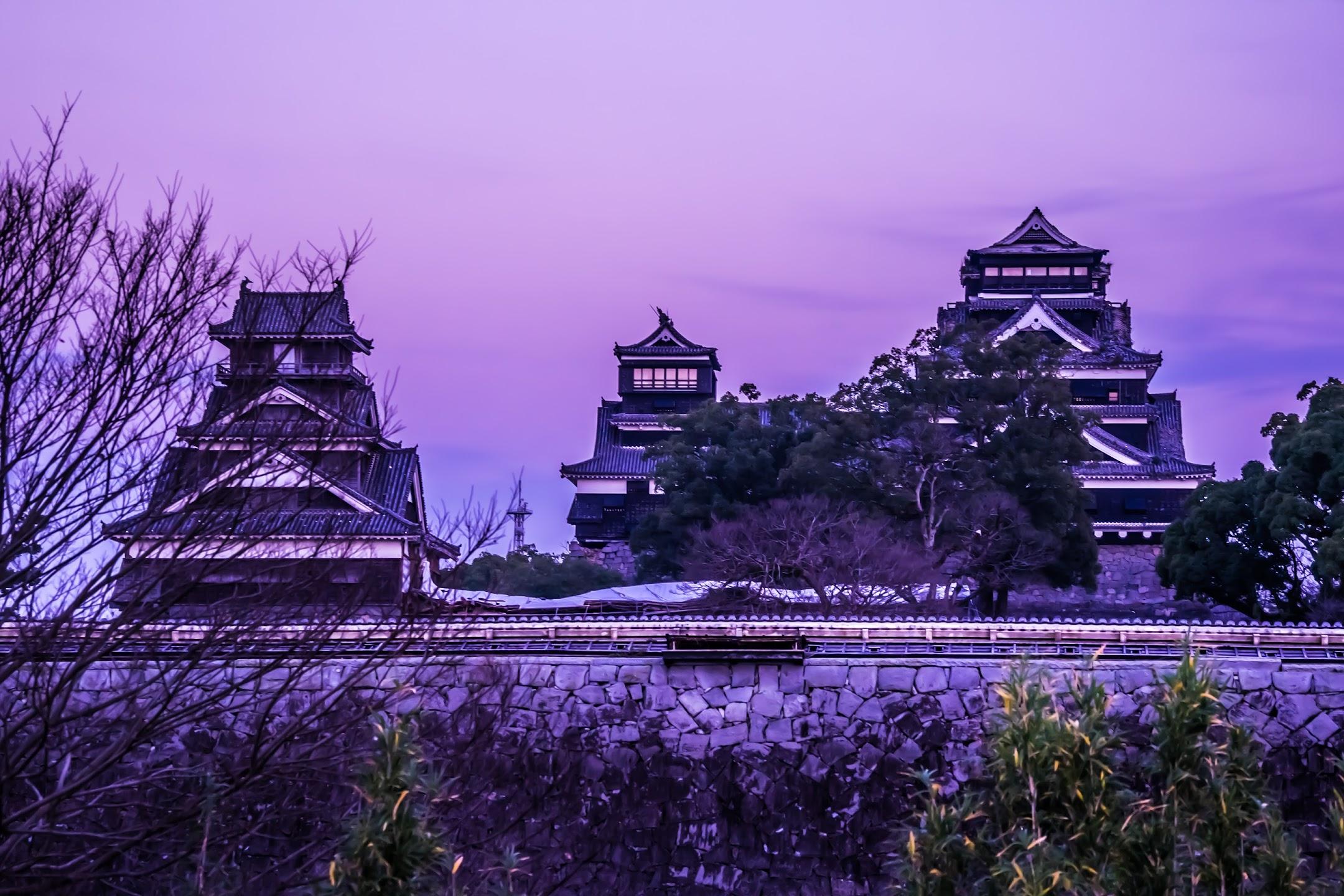 Kumamoto Castle main castle tower1