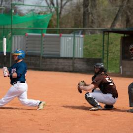 Energy Baseball by Vladimir Gergel - Sports & Fitness Baseball