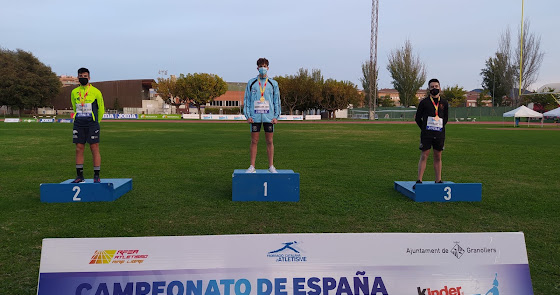 El atleta roquetero Juan Francisco Lozano consigue dos medallas de oro