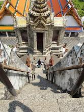 Photo: vue du Wat Arun- Bangkok