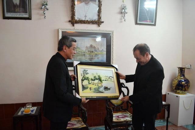 Phái đoàn Bộ Ngoại Giao của Tòa Thánh thăm Giáo phận Phát Diệm - Ảnh minh hoạ 6