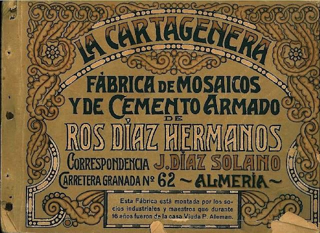 Catálogo de baldosas de 1917.