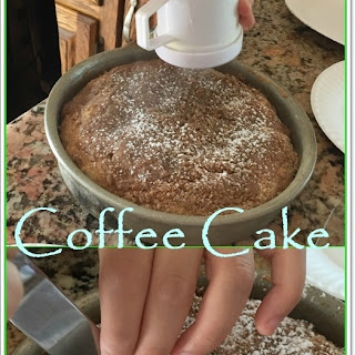 Bisquick Coffee Cake.
