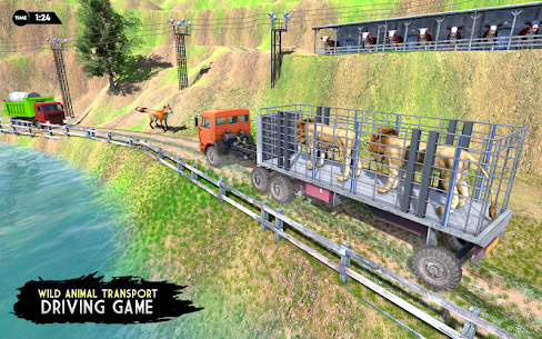 Real Animal Truck Transport Driver 3