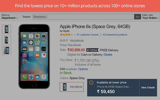 Compare Prices, Get Deals & Cashback