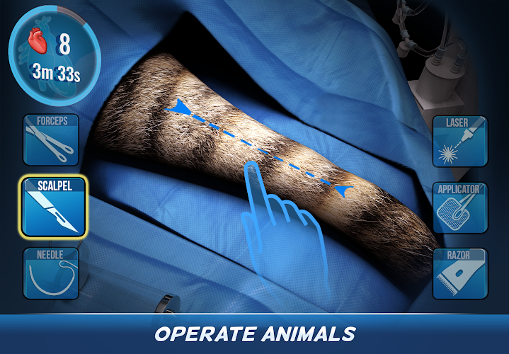 Operate Now: Animal Hospital Android App Screenshot