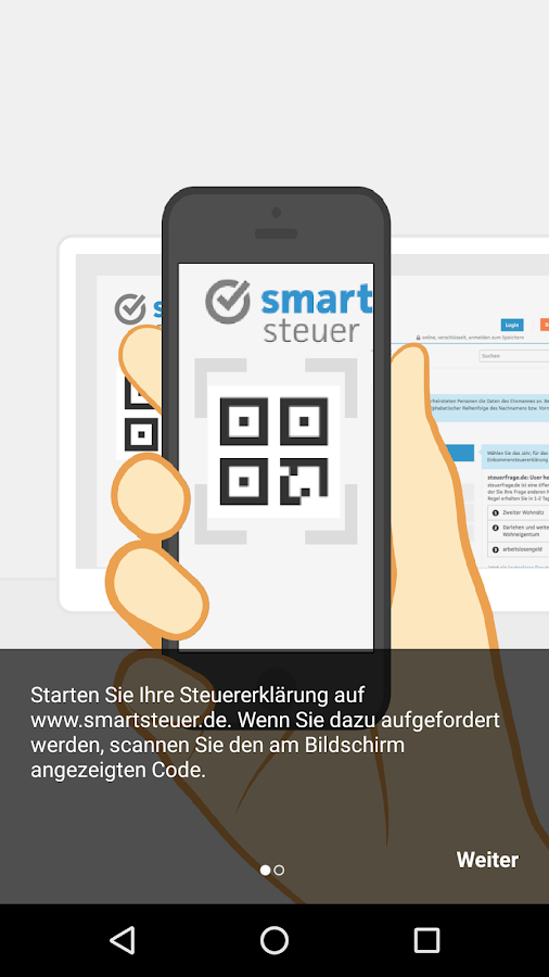 smartsteuer – Screenshot