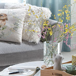 Introduce a field of florals into your home with our range of floral accessories
