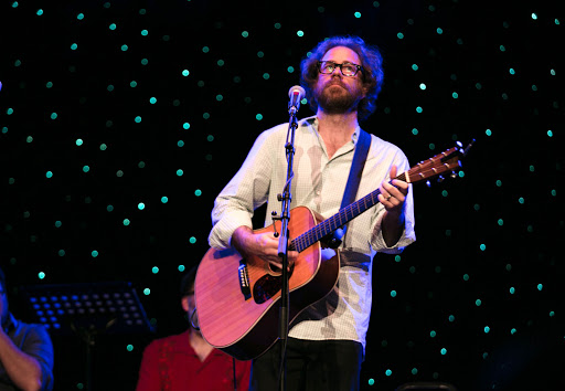 Jonathan Coulton opening night 2.jpg - Jonathan Coulton performs solo at JoCo Cruise.