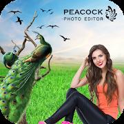 Peacock Photo Editor : Peacock Photo Frames