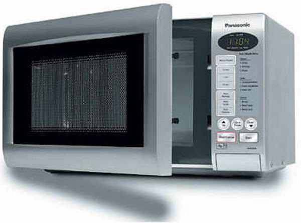 Place water in microwave set to high.  Set microwave for 6 to 10...