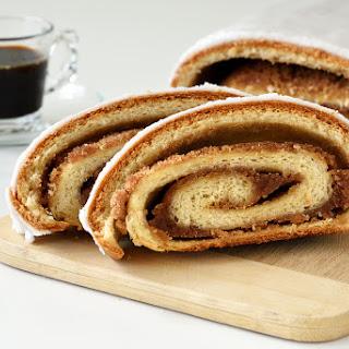 Almond Cinnamon Yeast Strudel Recipe