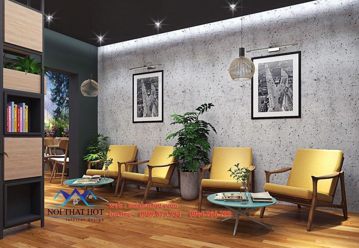 thiết kế quán cafe kết hợp shop thời trang 3