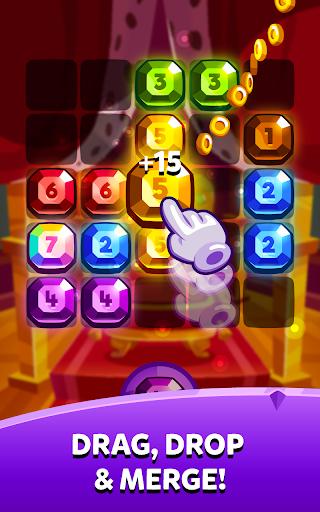 Bubbu Jewels - Merge Puzzle  screenshots 14