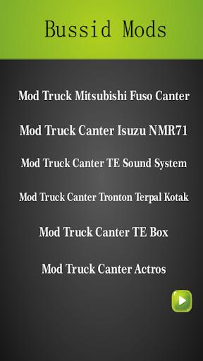 Mod Truck Canter Bussid Indonesia Update 2.0 screenshots 2