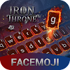Ice & Fire Iron Throne Emoji Keyboard Theme