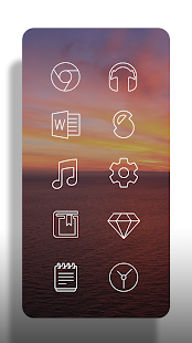 Lines - Icon Pack (Free Version) Screenshot