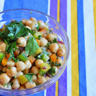 Chickpea and Cumin Salad.
