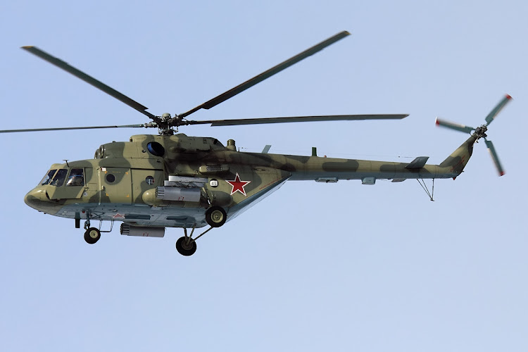 The Russian-built Mi-17 helicopter crashed late on Tuesday due to