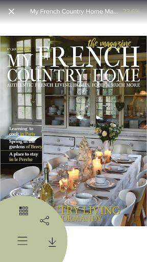French Country Home Magazine screenshot 2