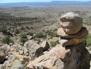 Photo: Cove Trail cairn