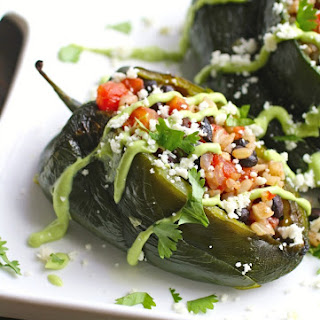 Peppers Stuffed With Black Beans And Rice Recipes