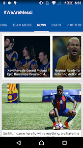 News, Photos & Stats for Messi screenshot 1