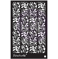 Prima Finnabair Stencil 6X9 - Passiflora