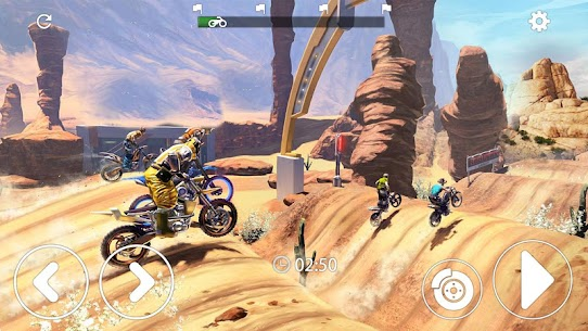 Mountain Moto- Trial Xtreme Racing MOD (Unlimited Gold Coins) 2