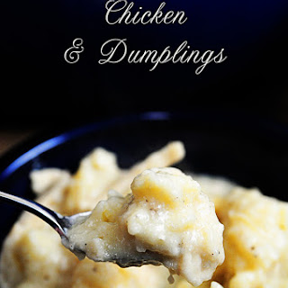 Southern Chicken and Dumplings.