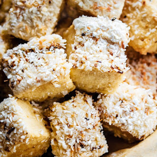 Toasted Coconut Homemade marshmallows {NO Corn Syrup, Gluten Free}