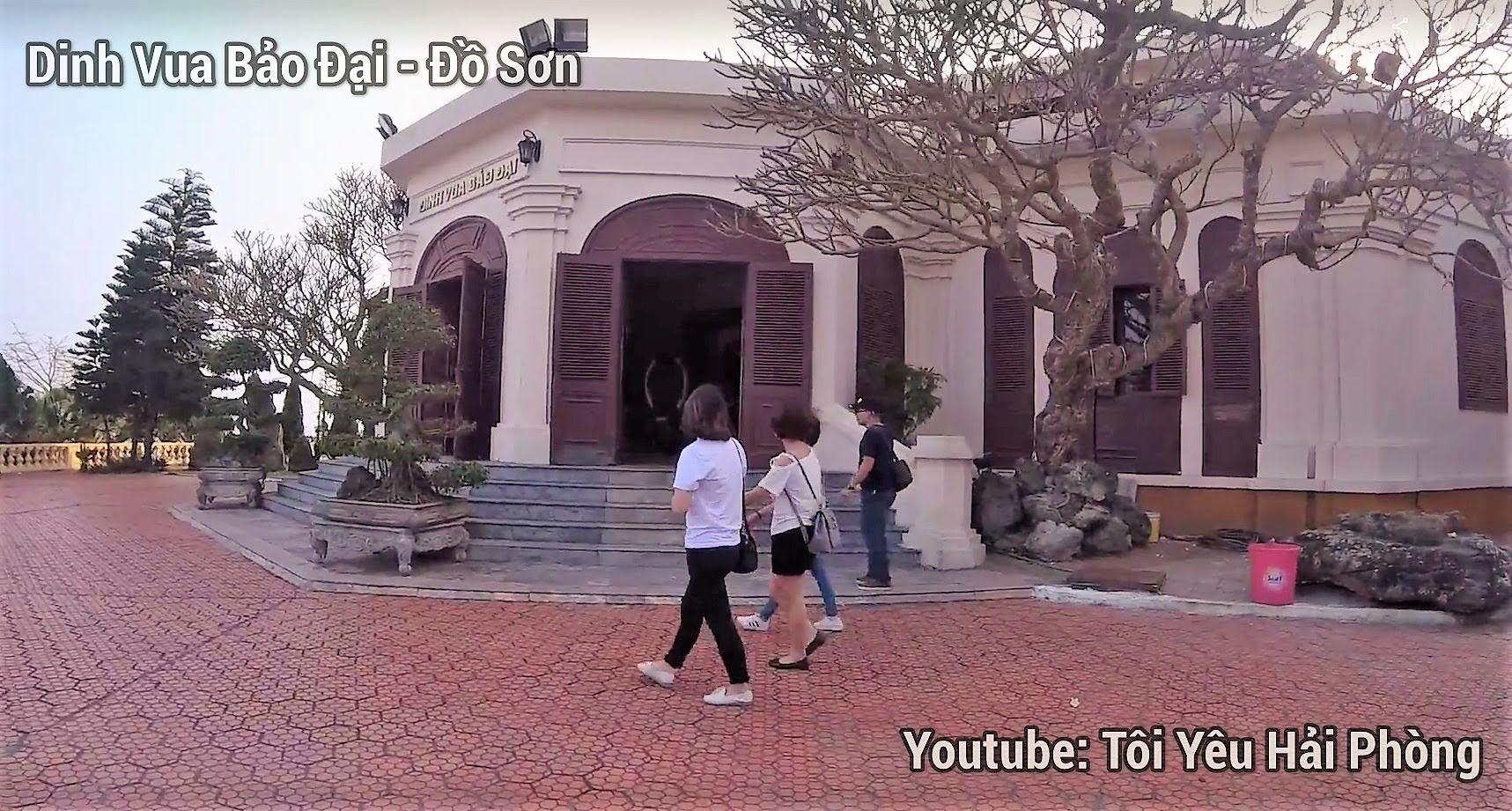 Điểm check in chụp ảnh Dinh Vua Bảo Đại ở Đồ Sơn Hải Phòng 1