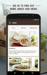 Chipotle- screenshot thumbnail