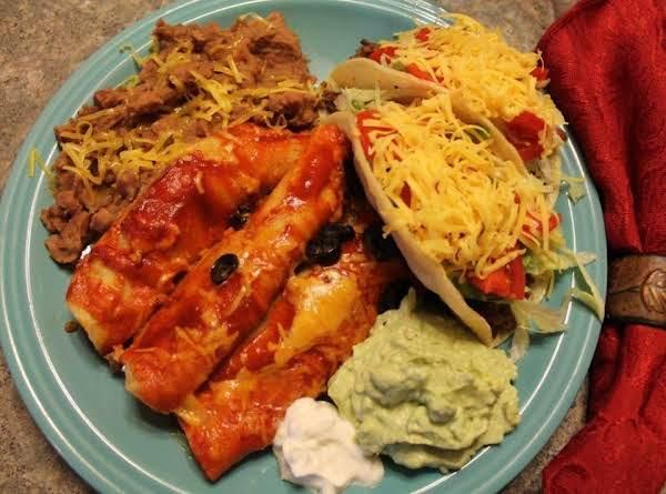 Kimberly's Beef Enchiladas