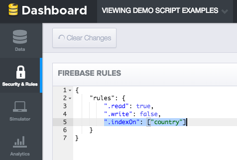 1- Quickstart: Read and write data in Firebase from Apps Script