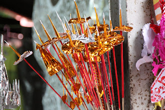 Photo: Year 2 Day 55 -  Offerings for the Buddha