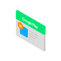 Icon for prize Promotions in the Google Play Store