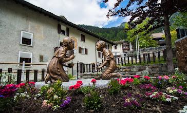 Photo: Monumento casa natale S.Luigi Guanella Fraciscio.