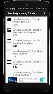 Jav Programming Tutorial - náhled
